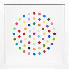 Damien Hirst, Multi-color 'Spots' Etching, 2004
