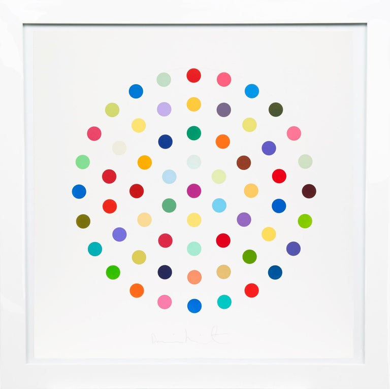 Damien Hirst, Multi-color 'Spots' Etching, 2004 - Print by Damien Hirst