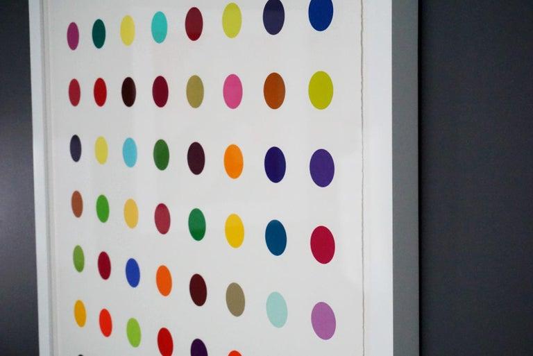 Damien Hirst, Multi-color Vertical Spots Woodcut, 2018 For Sale 9