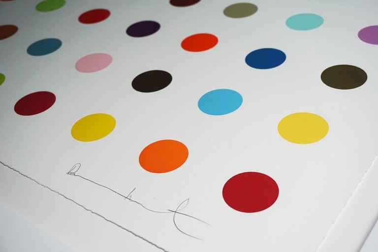 Damien Hirst, Multi-color Vertical Spots Woodcut, 2018 For Sale 2