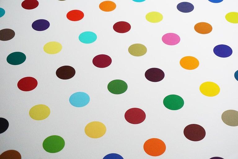 Damien Hirst, Multi-color Vertical Spots Woodcut, 2018 For Sale 3