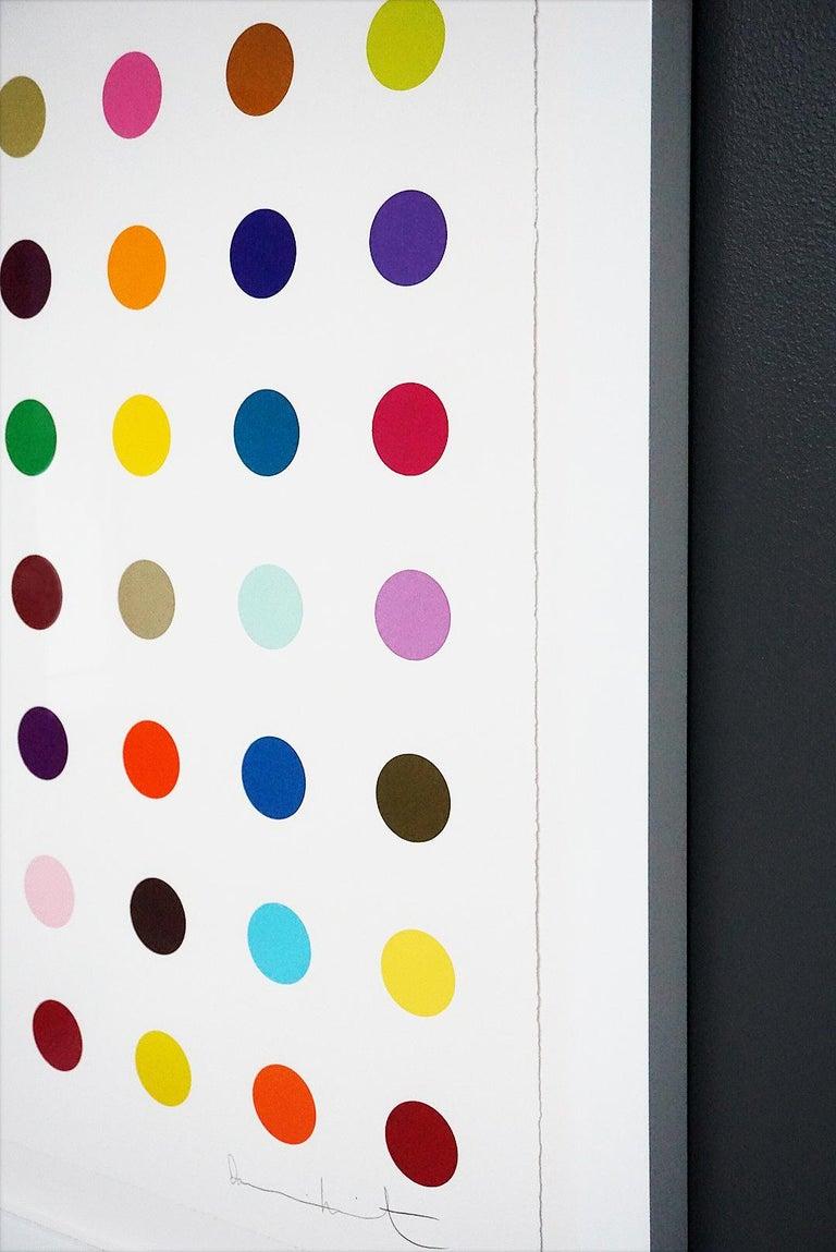 Damien Hirst, Multi-color Vertical Spots Woodcut, 2018 For Sale 5