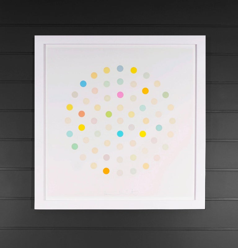 Damien Hirst, Pastel 'Spots' Etching, 2004 - Contemporary Print by Damien Hirst