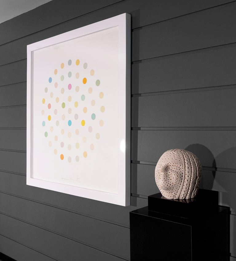 Damien Hirst, Pastel 'Spots' Etching, 2004 For Sale 1