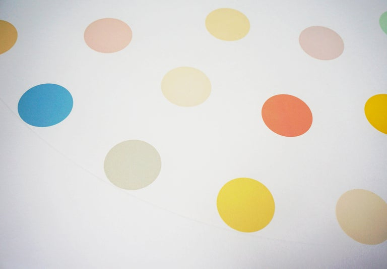 Damien Hirst, Pastel 'Spots' Etching, 2004 For Sale 2