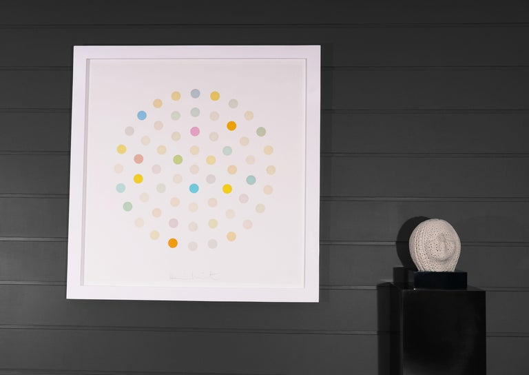Damien Hirst, Pastel 'Spots' Etching, 2004 For Sale 3