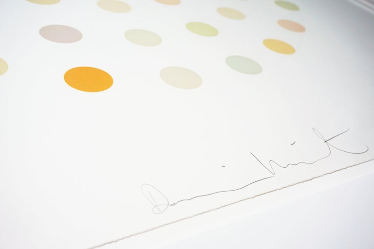 Damien Hirst, Pastel 'Spots' Etching, 2004 For Sale 5