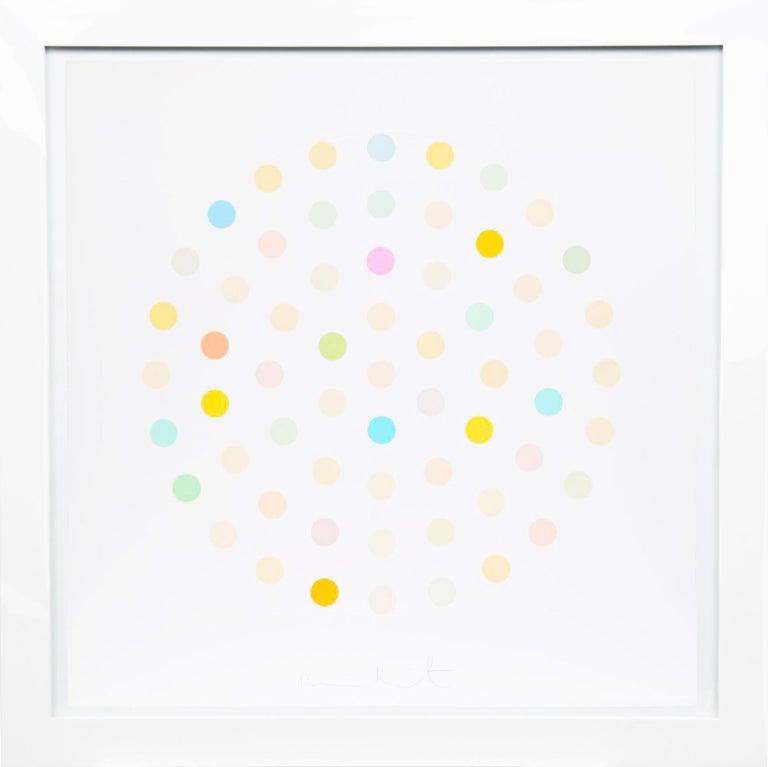 Damien Hirst, Pastel 'Spots' Etching, 2004 - Print by Damien Hirst