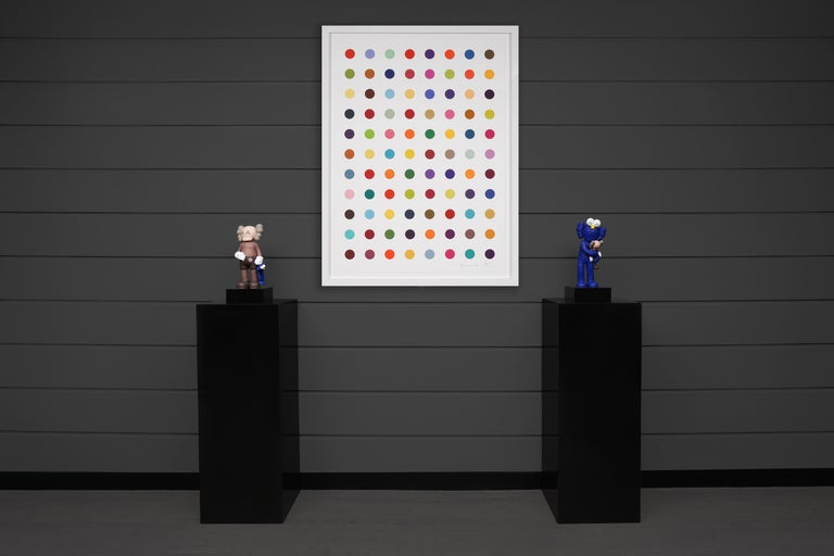 Damien Hirst, Vertical 'Spots' I, Woodcut, 2018 For Sale 2