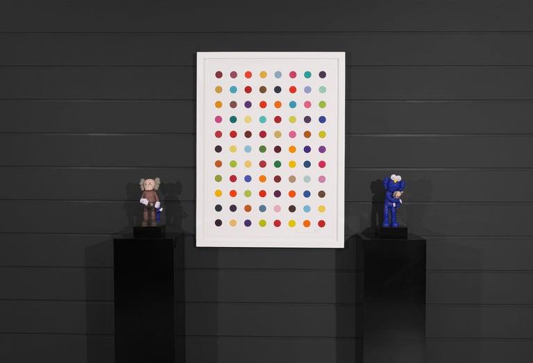 Damien Hirst, Vertical 'Spots' Woodcut, 2018 For Sale 5