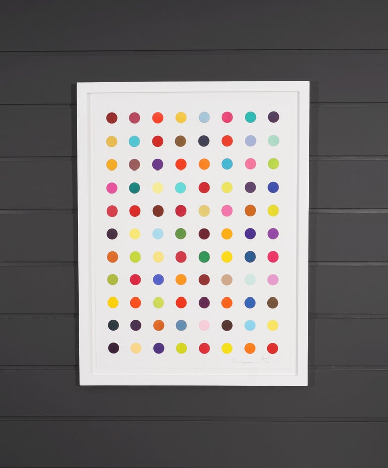 Damien Hirst, Vertical 'Spots' Woodcut, 2018 - Contemporary Print by Damien Hirst