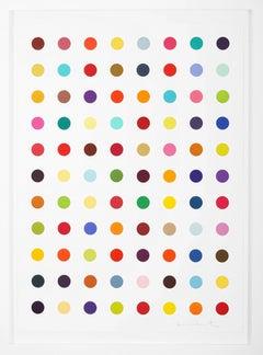 Damien Hirst, Vertical 'Spots' Woodcut, 2018
