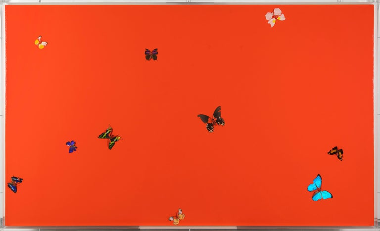 Overwhelming Love - Painting by Damien Hirst