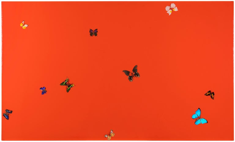 Damien Hirst Abstract Painting - Overwhelming Love