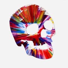 Skull Spin Painting