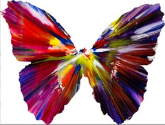 Spin Painting - Butterfly