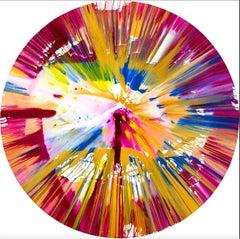 Spin Painting - Circle