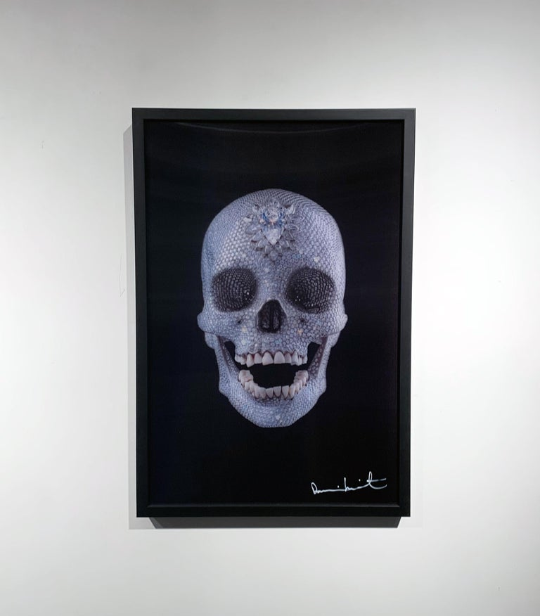 3D Skull (Small) - Young British Artists (YBA) Print by Damien Hirst