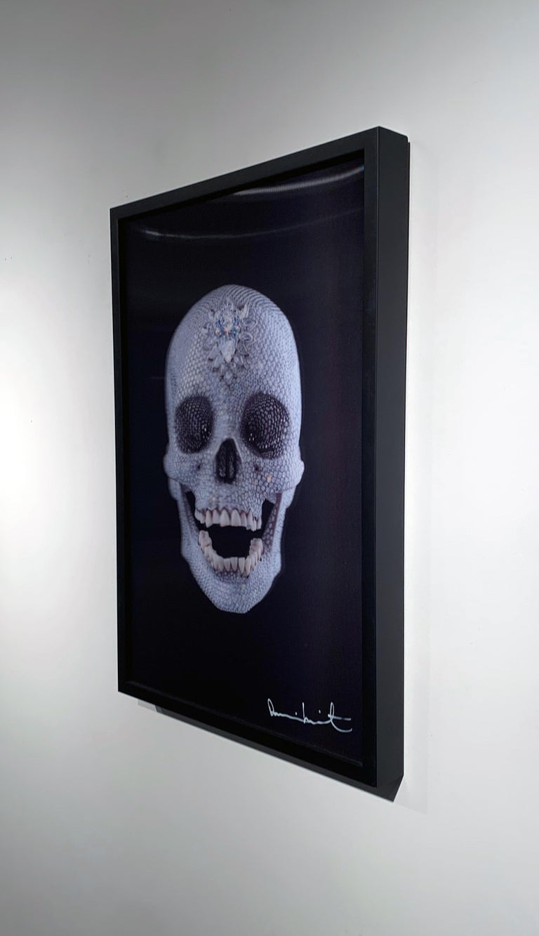 Artist:  Hirst, Damien Title:  3D Skull (Small) Date:  2012 Medium:  Digital Print on PETG plastic Unframed Dimensions:  23.6