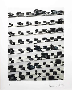 Black Brilliant Utopia; 2013; Inkjet, glaze, and diamond dust on Hahnemuhle phot