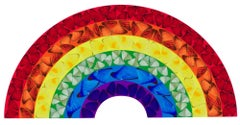 Butterfly Rainbow (Large) -- Giclée Print, Colourful, Rainbow by Damien Hirst