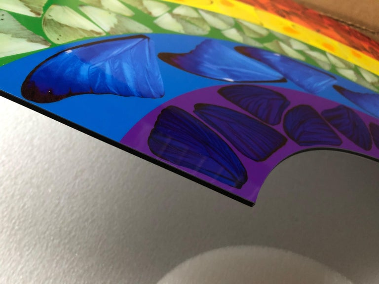 Butterfly Rainbow (Large) -- Giclée Print, Colourful, Rainbow by Damien Hirst For Sale 2