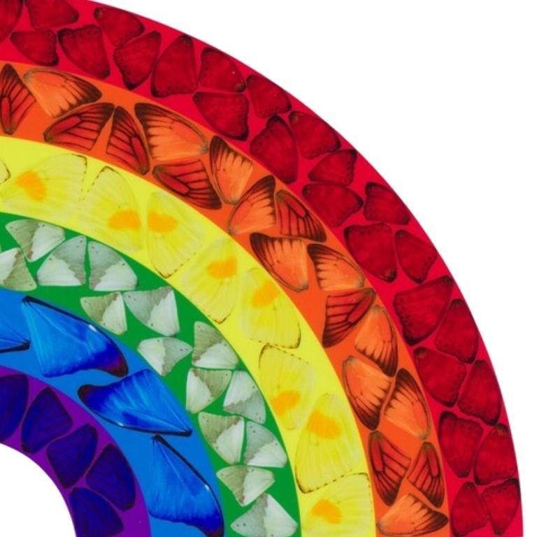 Butterfly Rainbow (Large) -- Giclée Print, Colourful, Rainbow by Damien Hirst For Sale 3