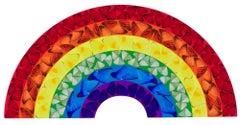 Butterfly Rainbow (Small) -- Giclée Print, Colourful, Rainbow by Damien Hirst