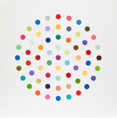 Cineole -- Spot Print, Etching, Colour Space, Pop Art by Damien Hirst