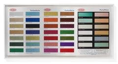 Colour Chart (Glitter)