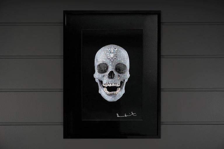 Damien Hirst, 3D 'For The Love Of God' Lenticular Skull, 2012 - Contemporary Print by Damien Hirst