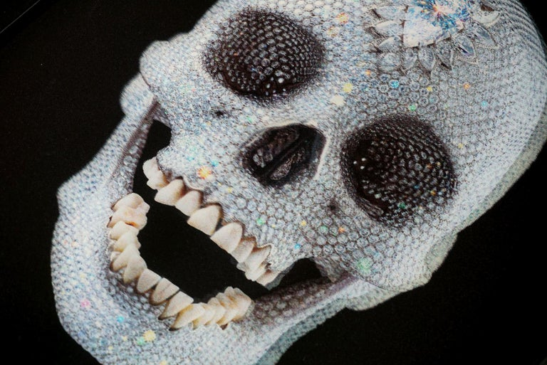 Damien Hirst, 3D 'For The Love Of God' Lenticular Skull, 2012 - Black Figurative Print by Damien Hirst