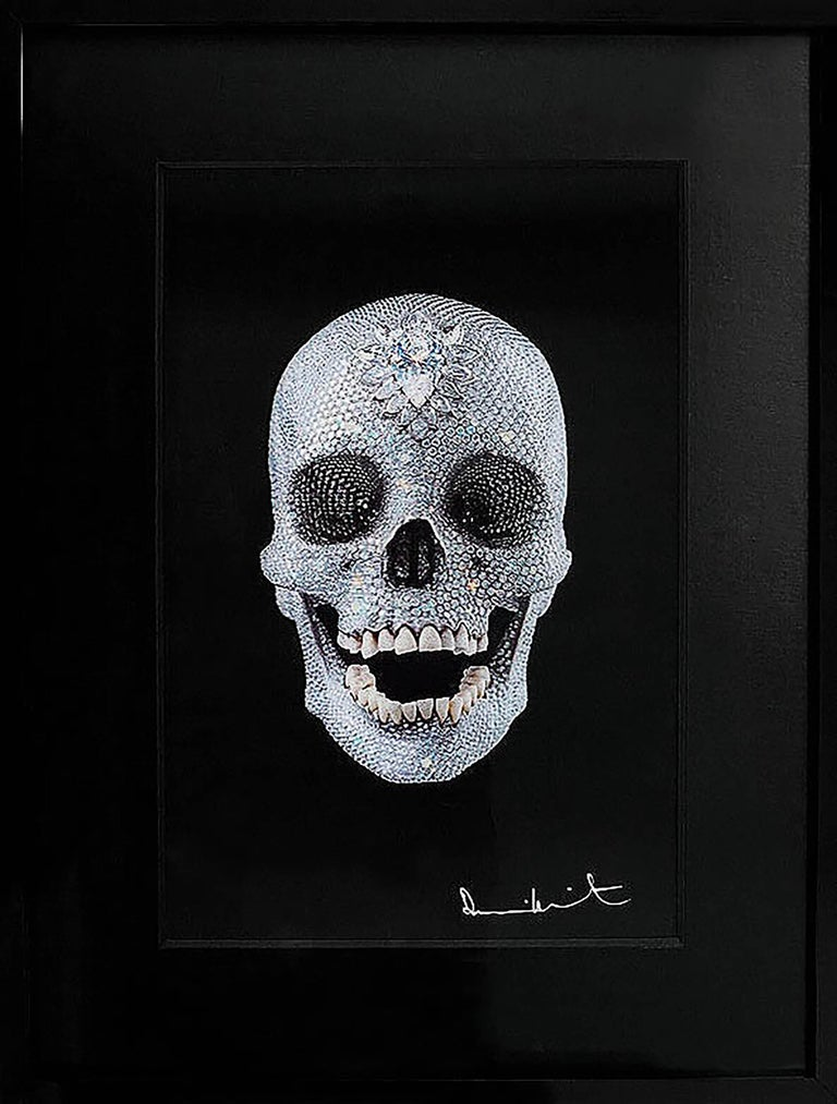 Damien Hirst, 3D 'For The Love Of God' Lenticular Skull, 2012 - Print by Damien Hirst