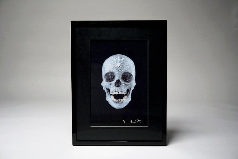 Damien Hirst, 3D Skull, (2012) - Gray Figurative Print by Damien Hirst