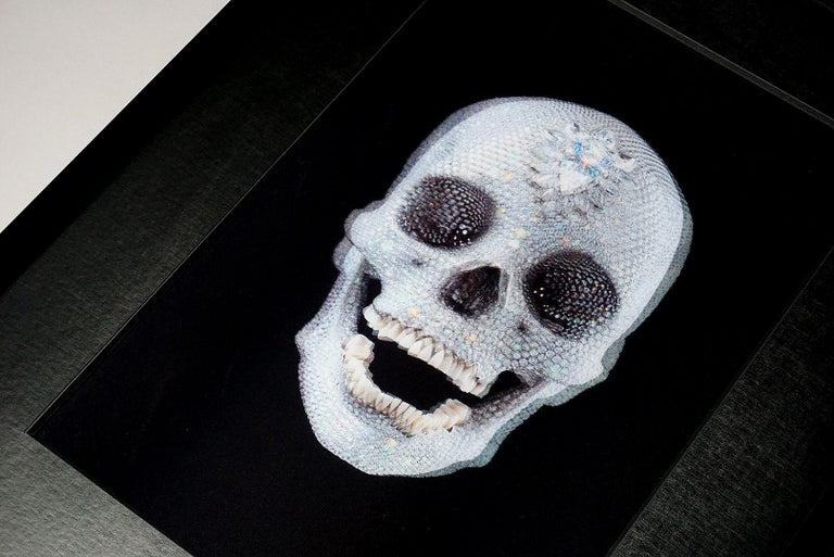 Damien Hirst, 3D Skull, (2012) 3