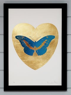 Damien Hirst, Butterfly, Blue/Gold (2015)
