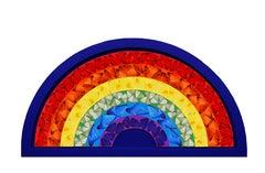 Damien Hirst, Butterfly Rainbow, Blue, 2020