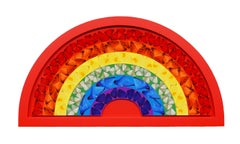 Damien Hirst, Butterfly Rainbow, Red, 2020