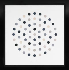 Damien Hirst, Charcoal 'Spots' Etching, 2004
