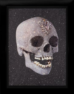 Damien Hirst, 'For the Love of God' Laugh with Diamond Dust, 2007