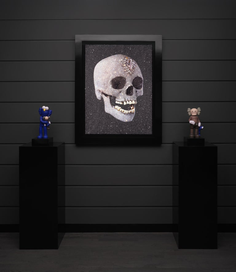 Damien Hirst, 'For the Love of God' Laugh with Diamond Dust, 2007 For Sale 5