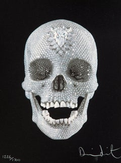 Damien Hirst 'For the Love of God' signed, limited edition print (Skull)
