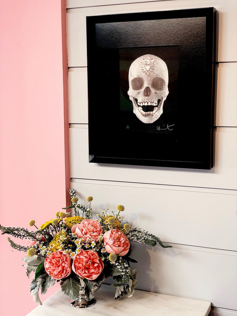 Damien Hirst, 'For The Love Of God' Skull with Diamond Dust, 2007 For Sale 8