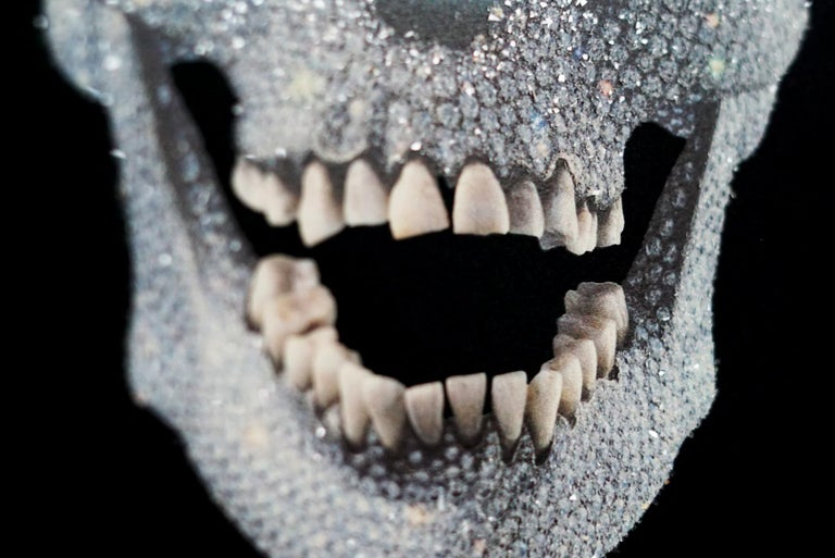 Damien Hirst, 'For The Love Of God' Skull with Diamond Dust, 2007 For Sale 1