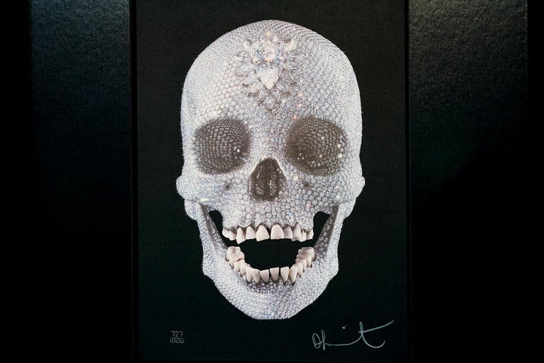 Damien Hirst, For The Love Of God with Diamond Dust (2007) For Sale 9