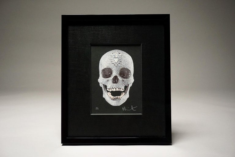 Damien Hirst, For The Love Of God with Diamond Dust (2007) For Sale 1