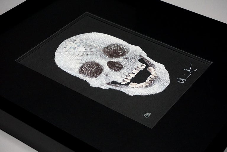 Damien Hirst, For The Love Of God with Diamond Dust (2007) For Sale 3