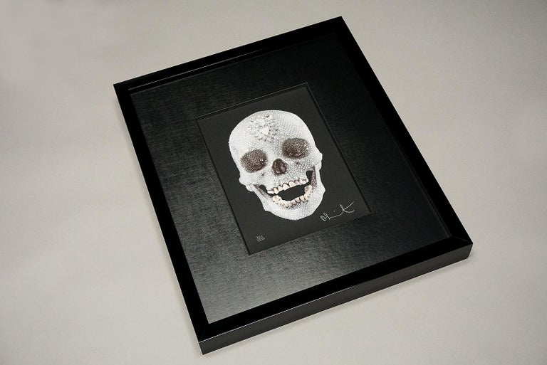 Damien Hirst, For The Love Of God with Diamond Dust (2007) For Sale 5