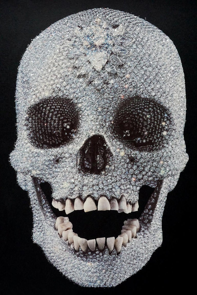 Damien Hirst, For The Love Of God with Diamond Dust (2007) For Sale 8