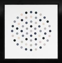 Damien Hirst, Grey 'Spots' Etching, 2004